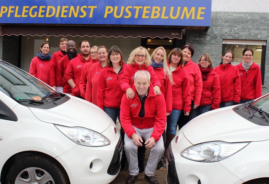 Das Team vom Pflegedienst Pusteblume